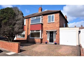 Thumbnail 3 bed semi-detached house for sale in The Rise, Newcastle Upon Tyne