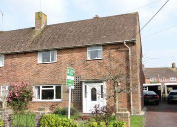 Thumbnail 3 bed semi-detached house for sale in Castle Road, Broadbridge Heath, Horsham