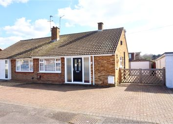 Thumbnail 2 bed semi-detached bungalow for sale in Montfort Road, Chatham