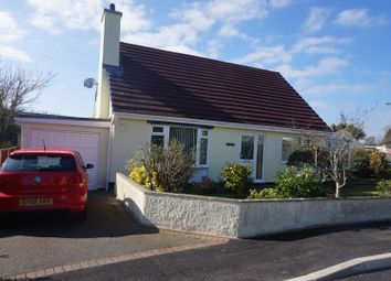 Thumbnail 3 bed detached bungalow for sale in Talwrn, Llangefni