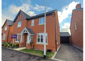 Thumbnail 4 bed detached house for sale in Hutton Road, Warwick