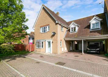 Thumbnail 3 bed link-detached house for sale in Artillery Drive, Dovercourt, Harwich