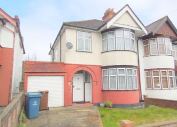 Thumbnail 3 bed semi-detached house to rent in Christchurch Avenue, Harrow