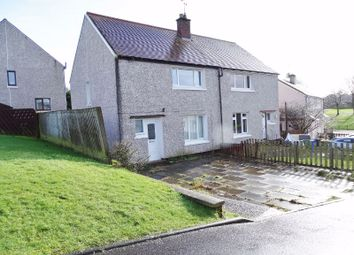 Thumbnail 3 bed semi-detached house for sale in Wallace Crescent, Plean, Stirling
