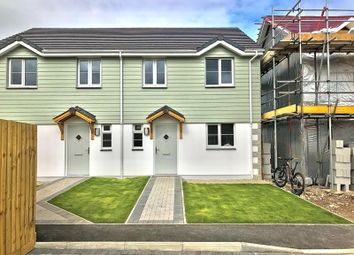 Thumbnail 3 bed semi-detached house for sale in Tolvaddon, Camborne