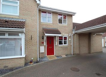 Thumbnail 2 bed semi-detached house for sale in Dhobi Place, Ipswich, Suffolk