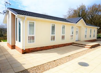Thumbnail 2 bed mobile/park home for sale in Kaysland Park, Sevenoaks