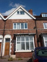 Thumbnail Studio to rent in Chester Rd, Erdington