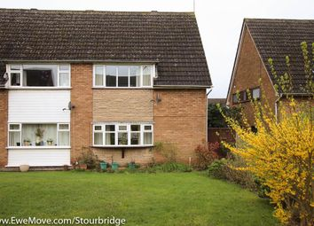 Thumbnail 2 bedroom semi-detached house for sale in Hamble Close, Brierley Hill
