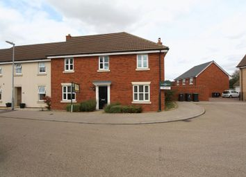 Thumbnail 4 bed end terrace house for sale in Ridge View, Houghton Conquest