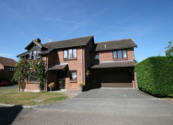 Thumbnail 6 bed detached house to rent in Selbourne Road, Burpham, Guildford