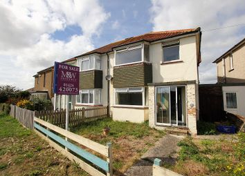 Thumbnail 3 bed semi-detached house for sale in Bexhill Road, St. Leonards-On-Sea, East Sussex.
