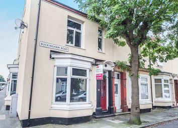 Thumbnail 3 bed end terrace house for sale in Buckingham Road, Stockton-On-Tees