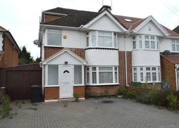 Thumbnail 4 bed semi-detached house to rent in Courtlands Avenue, Slough, Berkshire.