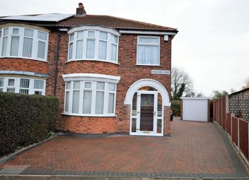 Thumbnail 3 bed semi-detached house for sale in Parvian Road, Leicester