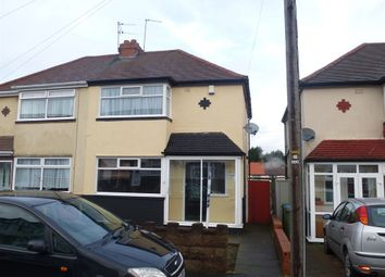 Thumbnail 3 bedroom semi-detached house for sale in Crockford Road, West Bromwich