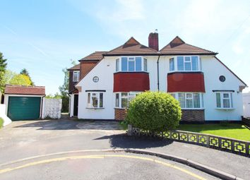 Thumbnail 4 bedroom semi-detached house to rent in Hopton Gardens, New Malden