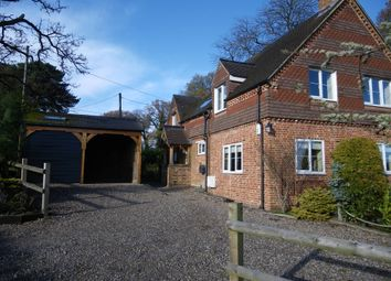Thumbnail 4 bed detached house to rent in Burghclere, Newbury