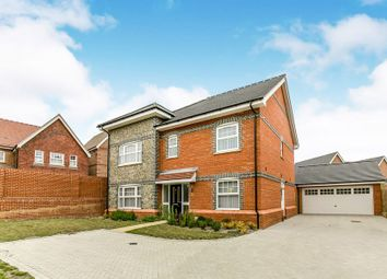 Thumbnail 5 bed detached house to rent in Cutbush Lane West, Shinfield, Reading