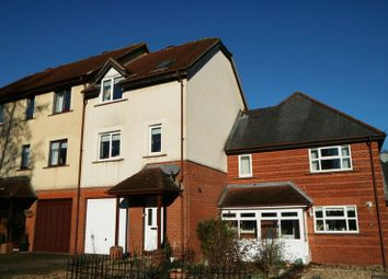 Thumbnail 3 bed terraced house for sale in Wesley Close, Taunton