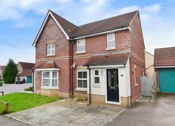 Thumbnail 3 bed semi-detached house for sale in Dalbier Close, Thorpe St. Andrew, Norwich