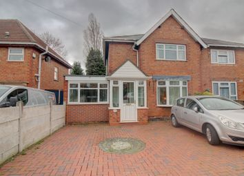 Thumbnail 2 bedroom semi-detached house for sale in Stanley Street, Bloxwich, Walsall
