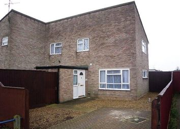 Thumbnail 3 bed semi-detached house to rent in Hallaton Road, Welland, Peterborough