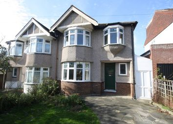 Thumbnail 3 bedroom semi-detached house for sale in Mason Road, Woodford Green