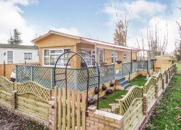 Thumbnail 1 bed mobile/park home for sale in Carlton Manor Park, Carlton-On-Trent, Newark