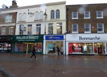 Thumbnail Retail premises for sale in High Street, Dartford, Kent