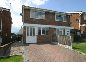 Thumbnail 2 bed semi-detached house to rent in Meadow Lane, Newhall, Swadlincote