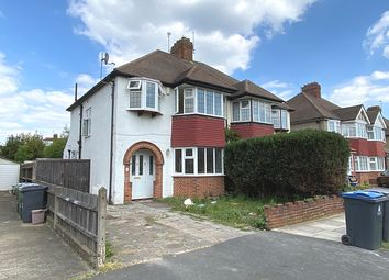 Thumbnail 3 bed semi-detached house to rent in Glebe Gardens, New Malden