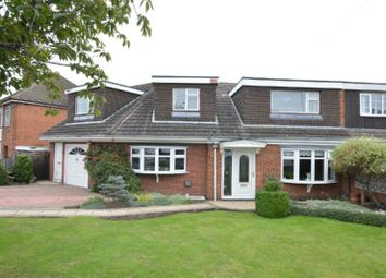 Thumbnail 4 bed semi-detached house for sale in Trinity Road, Enderby, Leicester