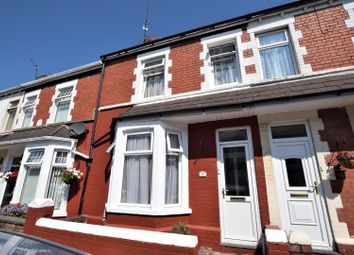 Thumbnail 3 bed terraced house for sale in Cora Street, Barry