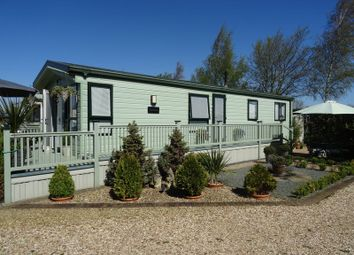 Thumbnail 2 bed mobile/park home for sale in Herron Cottage, Frostly Gate, Holbeach