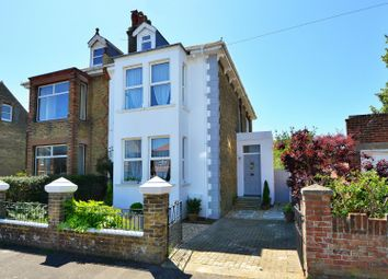 Thumbnail 4 bed semi-detached house for sale in Cowper Road, Deal