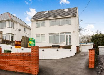Thumbnail 3 bed detached house for sale in Church Road, Tonteg, Pontypridd