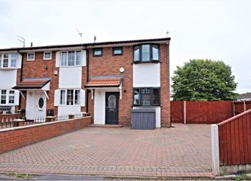 Thumbnail 3 bed end terrace house for sale in Farnborough Road, Manchester