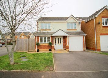 Thumbnail 4 bedroom detached house for sale in Maes Dewi Pritchard, Brackla, Bridgend County.