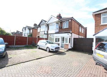 Thumbnail 3 bed semi-detached house for sale in Narborough Road South, Leicester