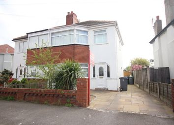 Thumbnail 3 bed semi-detached house for sale in Neville Avenue, Thornton-Cleveleys