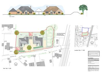 Thumbnail 4 bed detached bungalow for sale in Blackmill Lane, Great Moulton, Norwich