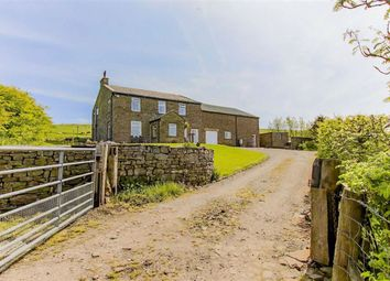 Thumbnail 5 bedroom farmhouse for sale in Brex, Bacup, Lancashire