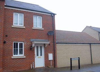 Thumbnail 2 bed end terrace house to rent in Hinchingbrooke Park, Huntingdon, Cambridgeshire