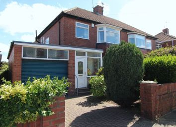 Thumbnail 3 bedroom semi-detached house for sale in Glenleigh Drive, Sunderland
