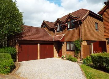 Thumbnail 4 bedroom detached house for sale in Russetts Drive, Fleet