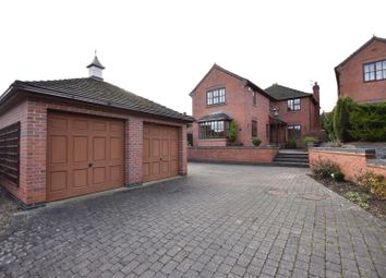 Thumbnail 4 bed detached house for sale in Loughborough Road, Hathern, Loughborough