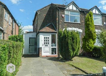 Thumbnail 3 bed semi-detached house for sale in Meade Hill Road, Prestwich, Manchester, Lancashire
