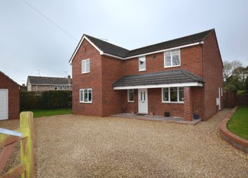 Thumbnail 4 bed detached house for sale in Bentleys Road, Market Drayton
