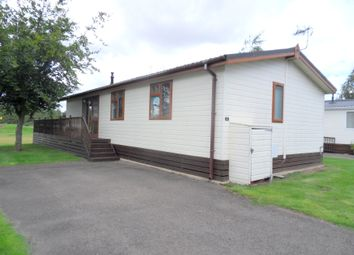 Thumbnail 3 bedroom mobile/park home for sale in Kirkgate, Tydd St. Giles, Wisbech